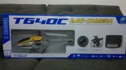 Helicoptero T640c - Controle 2.4ghz - Com Câmera
