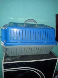 Transporte para gato, coelho, cachorro pequeno, troco pro gaiola de tiziu