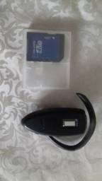 Fone auricular e cartão memória Nokia N95