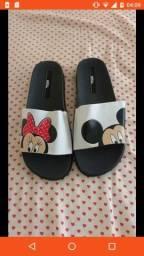 Melissa Mickey Minnie R$25,00