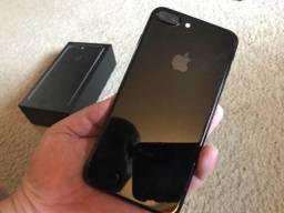 IPhone 7 Plus JetBlack 32GB IMPECÁVEL SEM NENHUMA MARCA DE USO