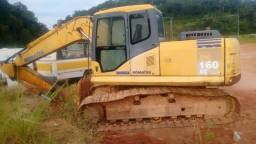 Escavadeira Komatsu PC160