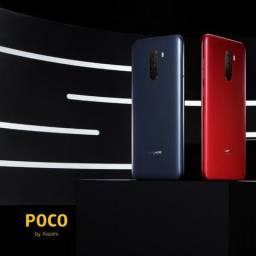 """Celular Xiaomi Pocophone F1 64GB / 4G / Dual Sim / Tela 6.18"""" / Cameras 20MP E 12MP + 5MP"""