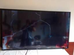 """Vendo SmartTV Sansumg 4k 55"""" ( tela quebrada )"""