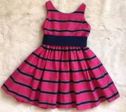 Vestido Infantil Festa Ralph Lauren 3 anos