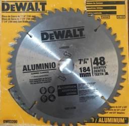 Kit com 3 discos de serra dewalt