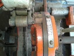 Roscadeira torno para tubulaçoes aço carbono,pvc,pp,pead