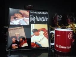 Kit Azulejo+Caneca personalizados