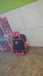 Bolsa mochila rosa