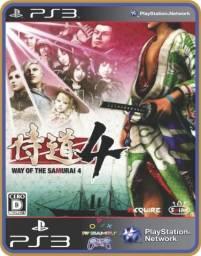 Título do anúncio: Ps3 Way of the Samurai 4
