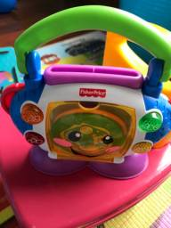CD Player Aprender e Brincar Fisher Price
