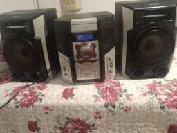 Mini System Hi-Fi c/MP3<br>