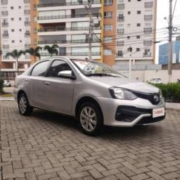 TOYOTA ETIOS SEDAN SEDAN X PLUS 15 AT 18/19 - 2019