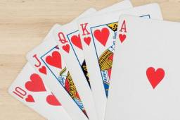 Baralho com 52 cartas