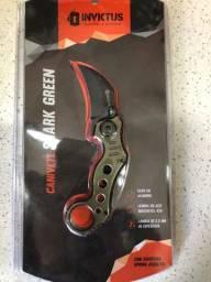 Canivete Shark Green - Invictus