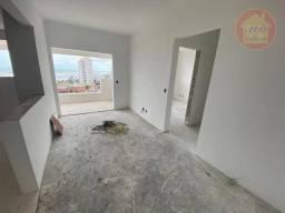 Apartamento com 2 dormitórios à venda, 64 m² por R$ 240.000 - Jardim Marina - Mongaguá/SP