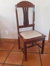 Cadeiras - Madeira Imbuia maciça
