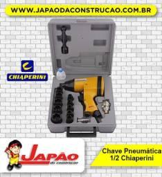 """Chave De Impacto Pneumática 1/2"""" CHI-320K Chiaperini Com Maleta"""