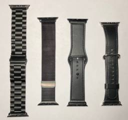 Kit Pulseiras Premium - Apple Watch 42/44mm