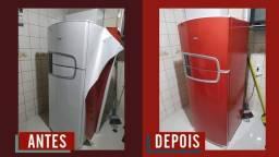 Envelopamento de Geladeiras a partir de R$200