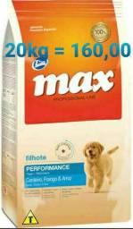 """Ração  Max Performance Premium Especial Filhote 20kg """"ENTREGA GRÁTIS """""""