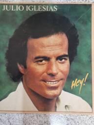 LP Julio Iglesias 'Hey' 1980 raridade