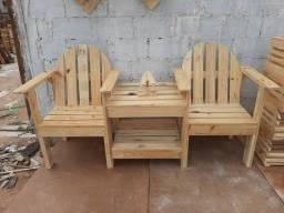 Cadeiras conjugadas com centro