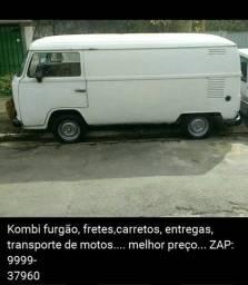 Kombi furgão fretes carretos entregas transporte de motos fretes carretos