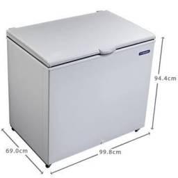 Freezer e Refrigerador Horizontal Metalfrio DA302 - 293L<br><br>