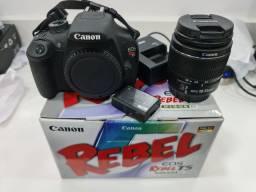 Câmera Canon T5 Muito nova