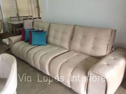 Sofa barcelona griffe de 3m aqui na Via Lopes Interiores wpp 62 9  *