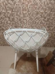 Cadeira branca designer