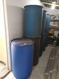 Tonel de plástico 200 litros (bombona)