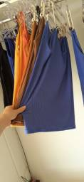 Blusa malha canelada tamanho único
