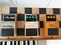 Trio boss pedal pra vc ter  no seu set
