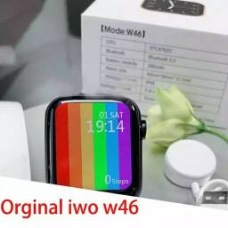 "Smartwatche Iwo W46 tela 1.75"" Infinita"