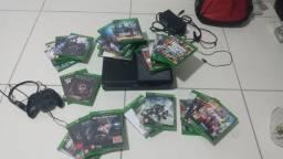 Xbox one 1 controle e 27 jogos originais