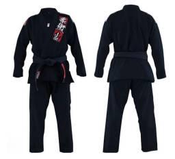 Kimono Jiu Jitsu A4 e A3 Preto