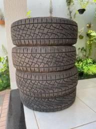 Vendo 4 pneus semi novos PIRELLI Scorpion Aro 16