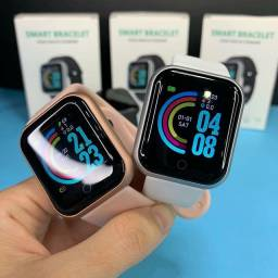 (12x SEM JUROS) Smartwatch Y68 D20 s Relógio inteligente Smart Esportivo com Pedômetro