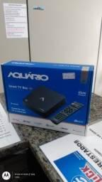 Receptor tv aquário novo box