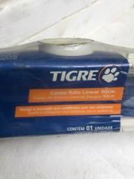 Corpo ralo linear tigre pvc 90cm novo