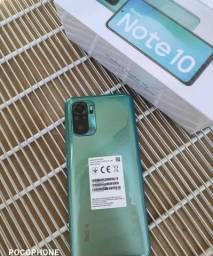 Xiaomi Redmi Note 10 128gb/4gb Com 6 Meses De Garantia Cor Verde