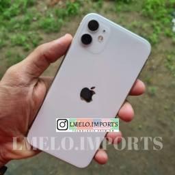 IPhone 11 Branco 64GB | Cabo + fonte originais sem uso na Garantia Apple até 15/06