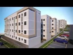 VM-C-Condomínio fechado com apê de 2 quartos, Excelentes Condições de Financiamento!