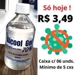 Mega Promoção imperdivel de Álcool Gel por apenas 3,49