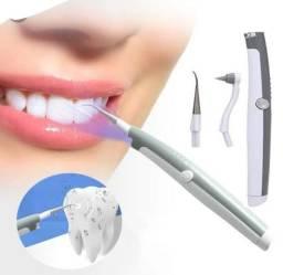 Aparelho de Limpeza dental remove Tártaros Placas só R$40 Eletrofox