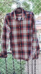 Camisa Zara veste 42 ou M