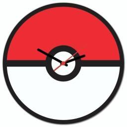 Relógio de Parede Temático Pokemon