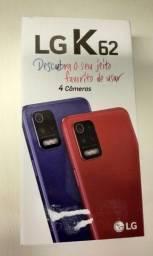 Smartphone LG K62 64GB Azul 4G Octa-Core 4GB - Tela 6,59? - Leia a Descrição